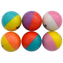 Set 6 palline Bicolor Eclipse